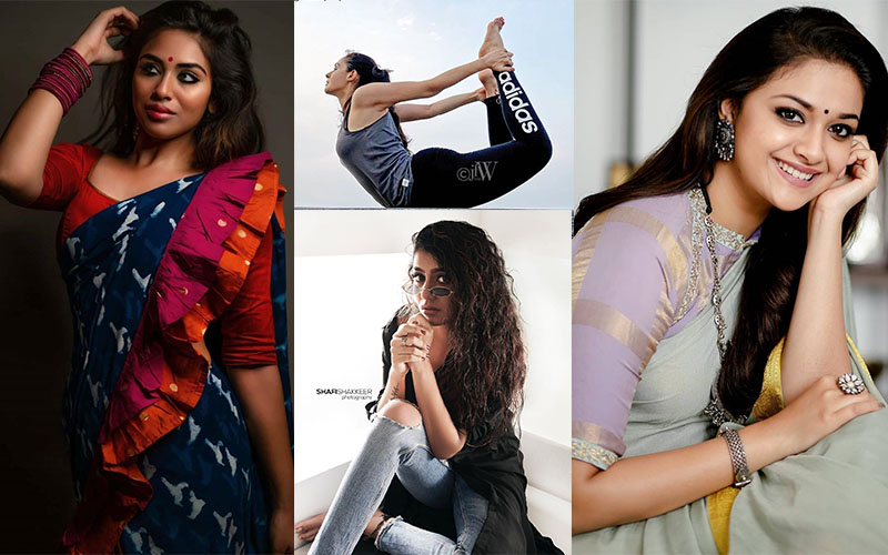 hot pictures of Keerthy Suresh, Andrea Jeremiah, Priya Praksh Warrier, Indhuja