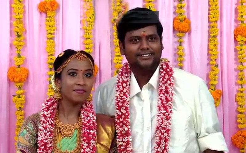 Kumki Ashwin weds Vidyasree pictures