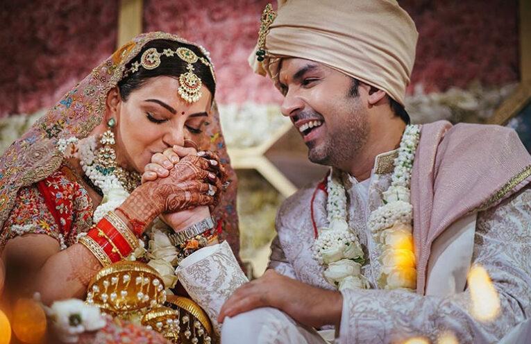 kajal Gautam wedding slider