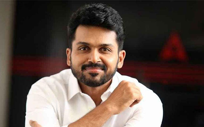 Karthi, wife blessed with a boy child