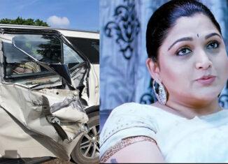 Khushbu escapes unhurt in major accident